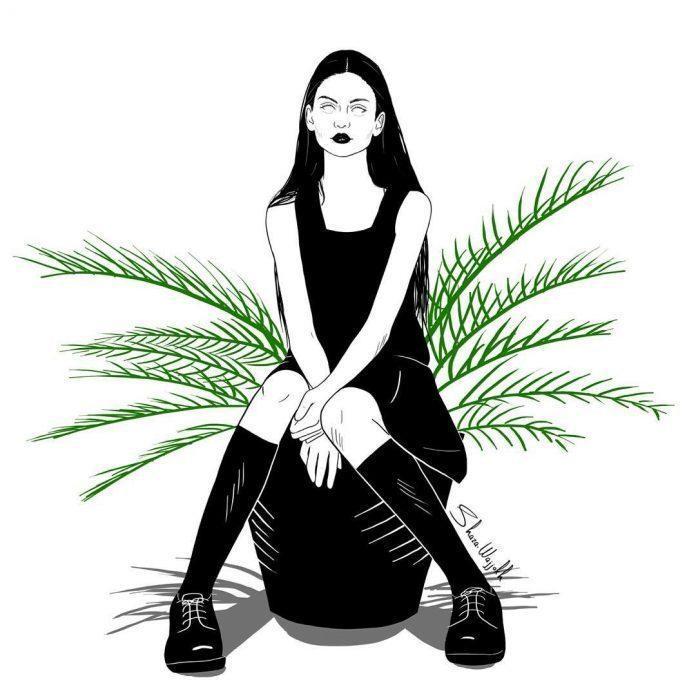 Illustration by Shaza Wajjokh / 7277