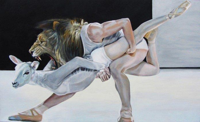Painting by Katie Buckett / 893