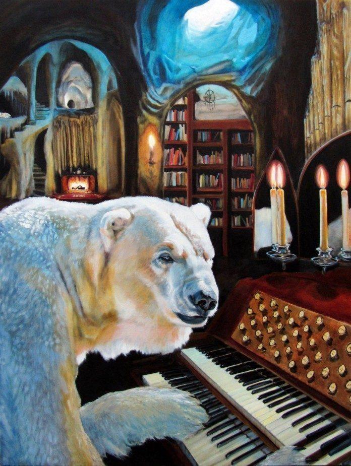 Painting by Katie Buckett / 896