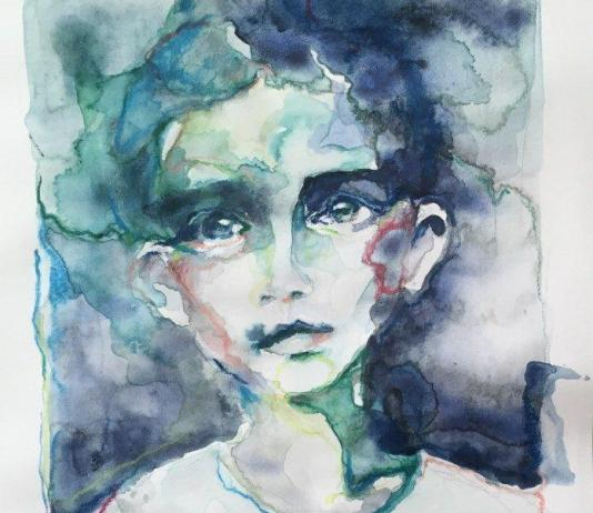 Watercolor Painting by Marie Genicot / Artist 2179