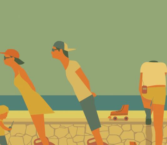 Summer Illustration by J Keslassy / 2232