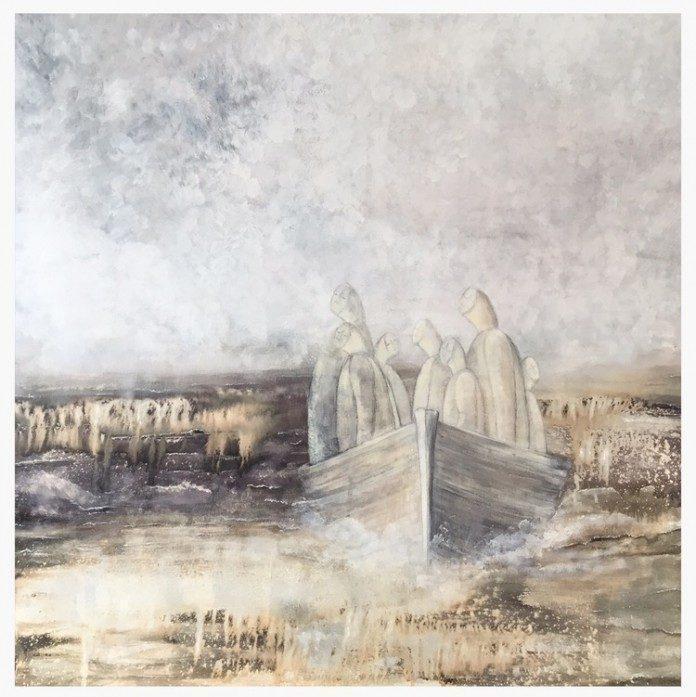 Painting by Henriette Roka-Aardal / 2447