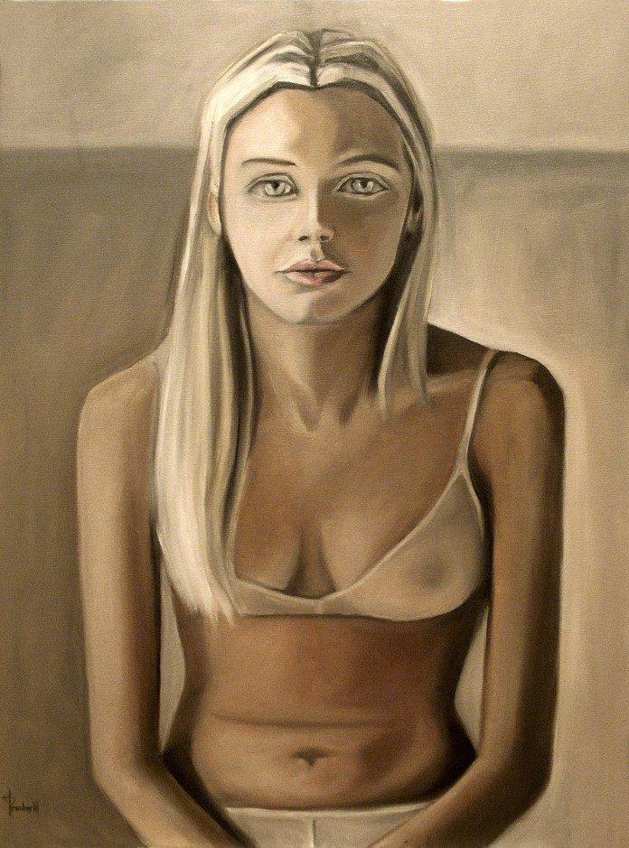 Painting by Thomas Pramhas / 2730