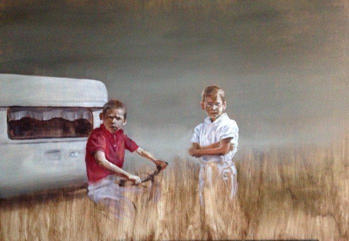Painting by Erik Uddén / 3091