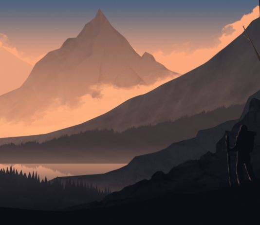 Mountain Illustration by Cody Lee Muir / Artist 4421