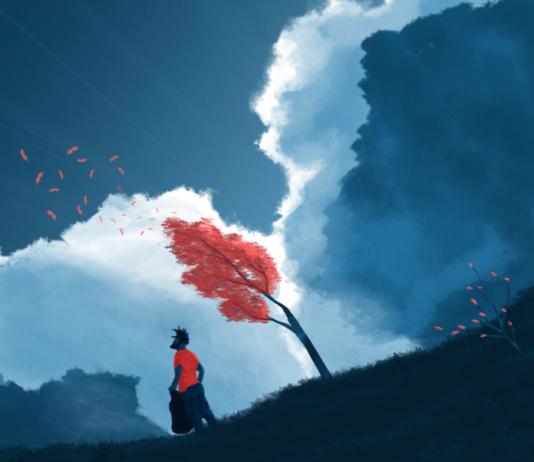 Cloud & Sky Illustration by Cody Lee Muir / Artist 4423