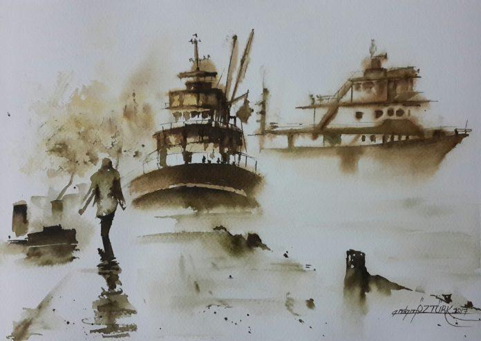 Painting by Erdem Öztürk / 6378