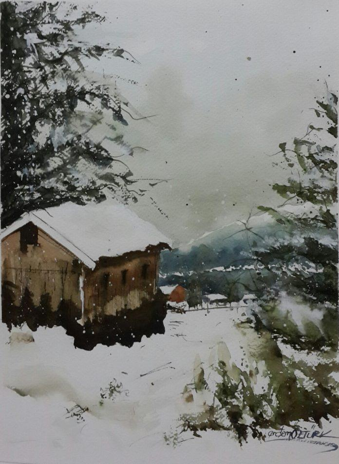 Painting by Erdem Öztürk / 6380