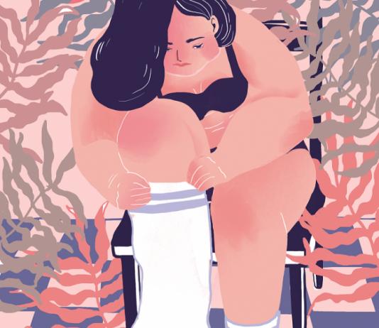 Girl Illustration by Sammi / 9220