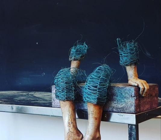 Metal Sculpture by Lene Kilde / Artist 9248