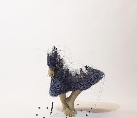Metal Sculpture by Lene Kilde / Artist 9250
