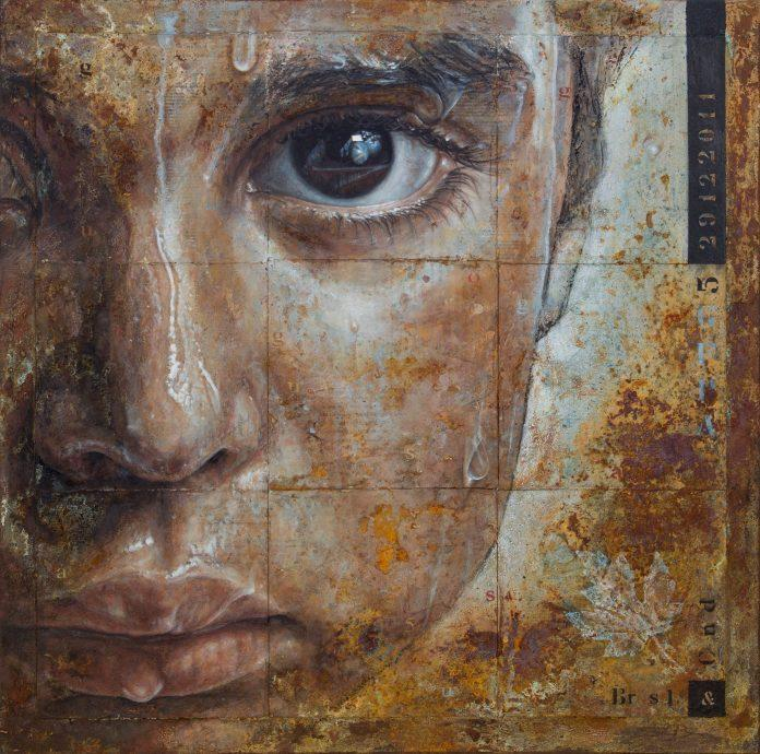 Painting by Silvia Brum / 9370