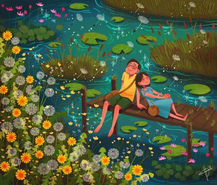 Illustration by Hana Augustine / 9844