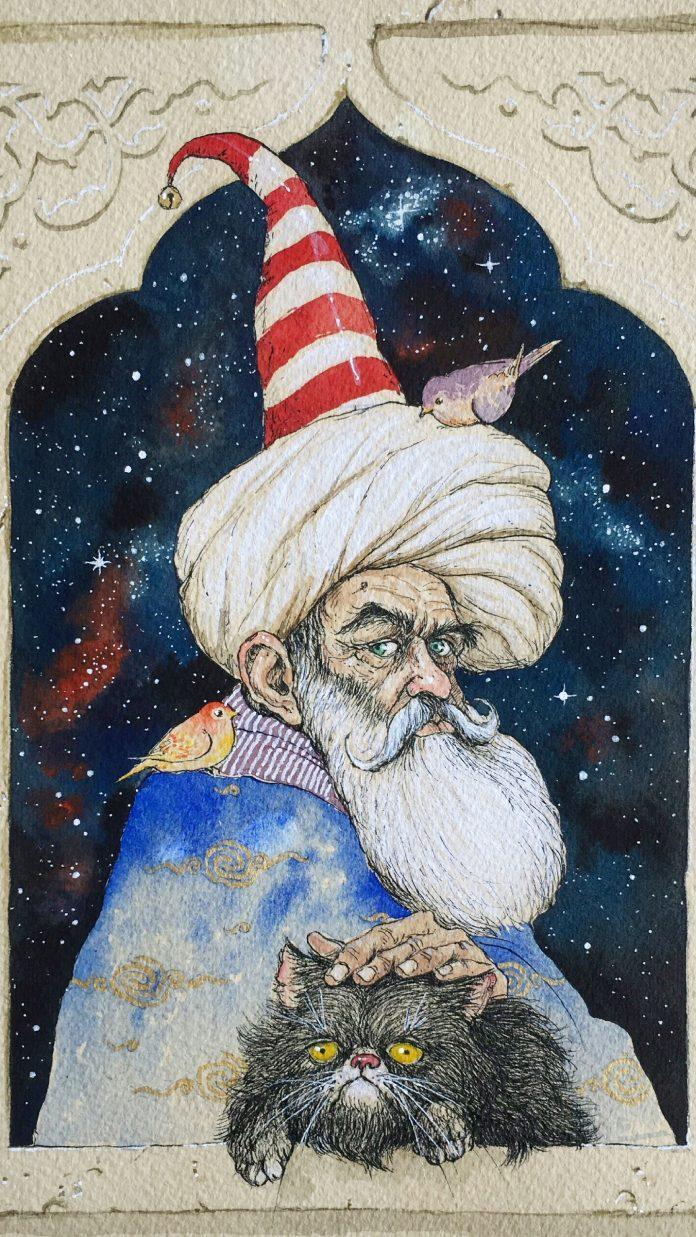 Painting by Hemad Javadzade / 10052