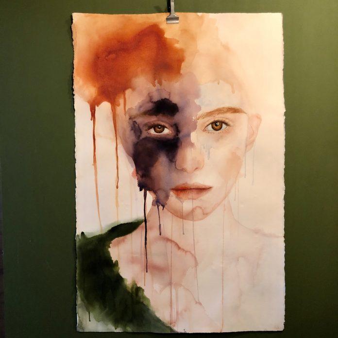 Painting by Alisha Rich / 12290