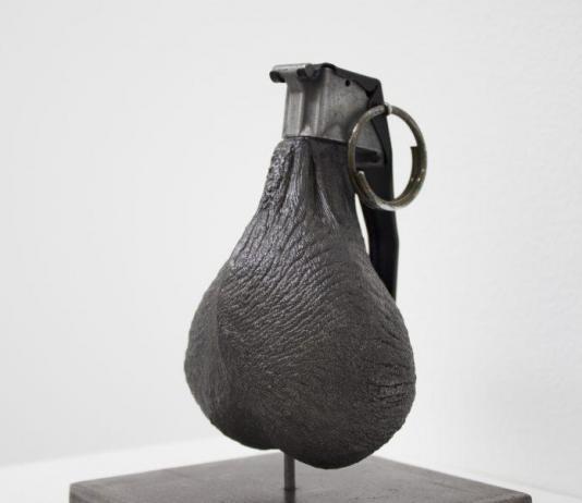 Metal Sculpture by Ernesto Marenco / Artist 12448