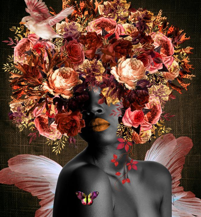 Collage by Yvonne Coleman Burney / 14327