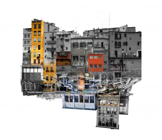 Cityscape Collage by Laura Romero / Artist 14625