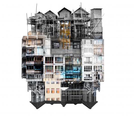 Cityscape Collage by Laura Romero / Artist 14626