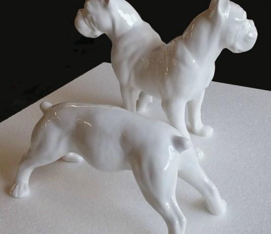 Dog Sculpture by Antonio Riello / 11141