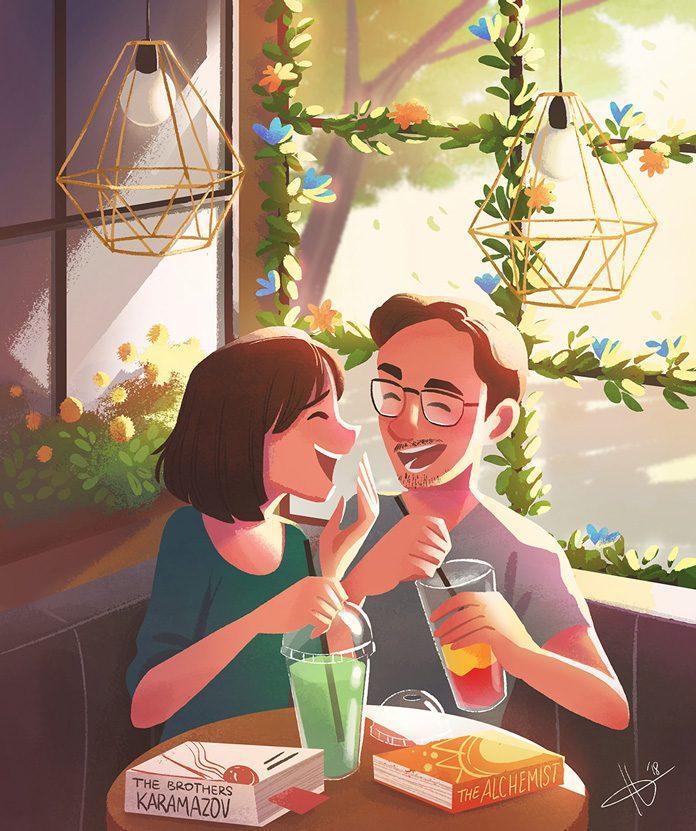 Illustration by Hana Augustine / 9885