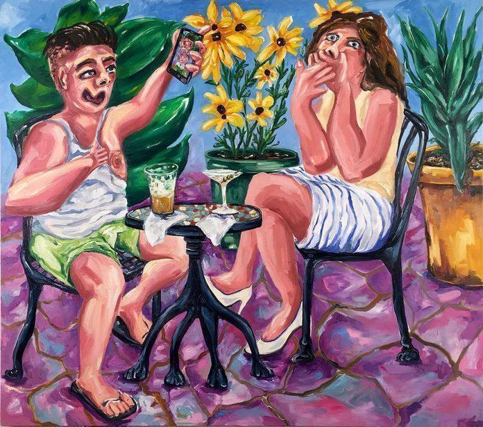 Painting by Joe Carrozzo / 8651