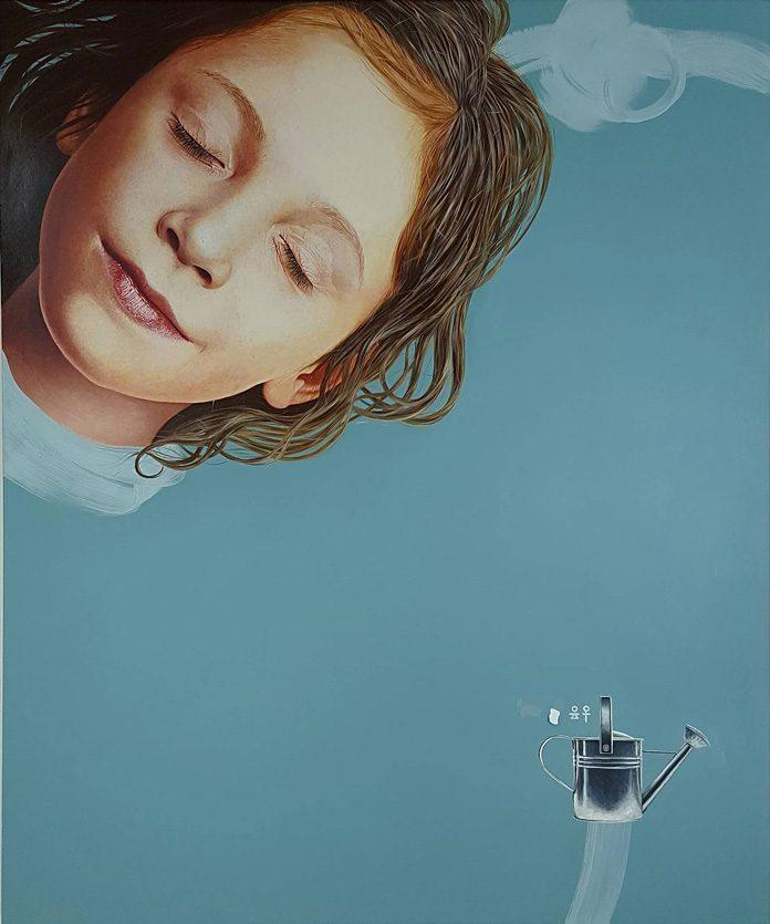 Painting by Vasja Grabner / 5106