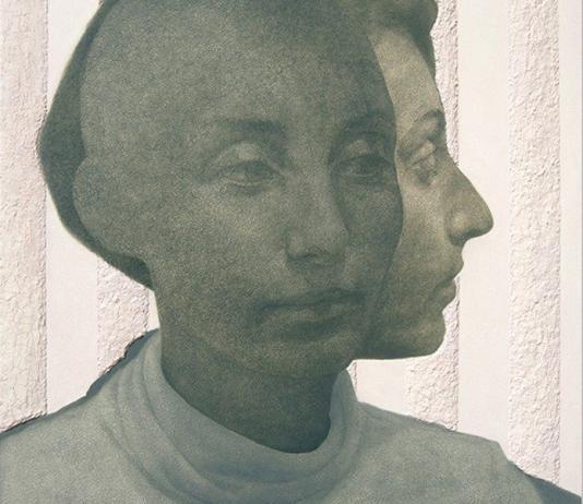 Women / Female Painting by Ilsa Brittain / 2753